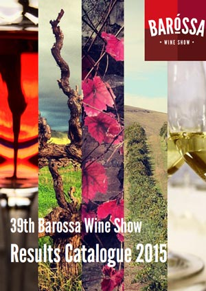 2015 Barossa Wine Show Results
