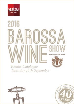 2016 Barossa Wine Show Results